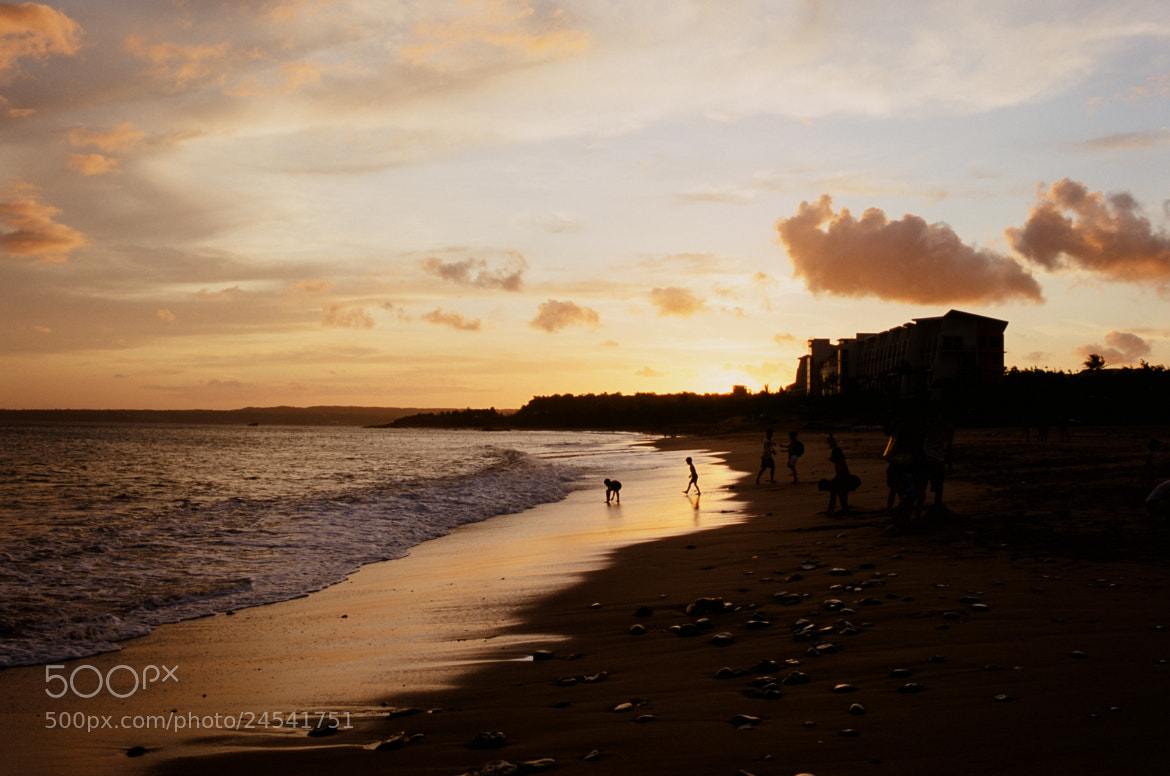 Photograph Gentle Sunset on the Beach by Johnathan Lau on 500px