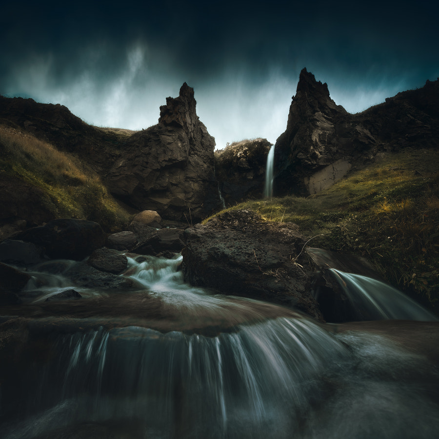 Druid Falls by Daniel Laan on 500px.com