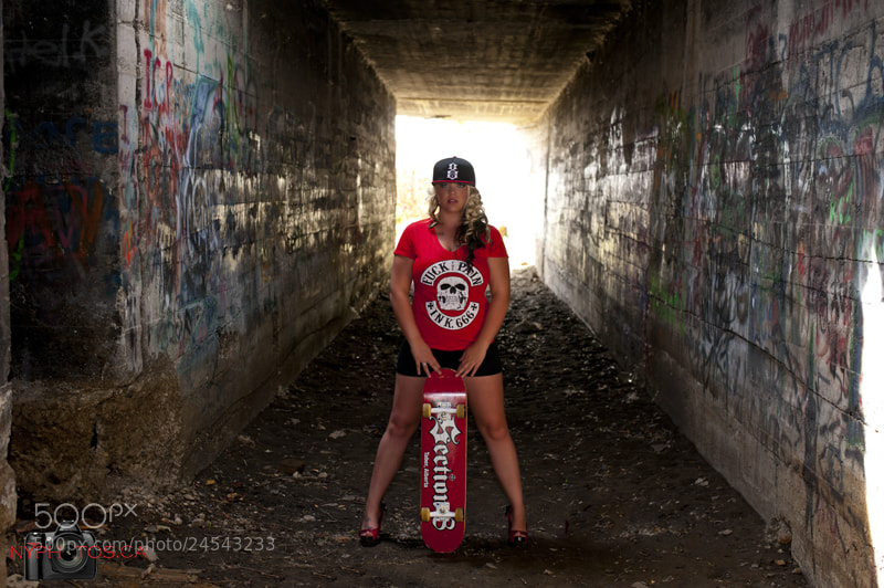 Photograph Amanda - Skater Girl by Neil Young on 500px