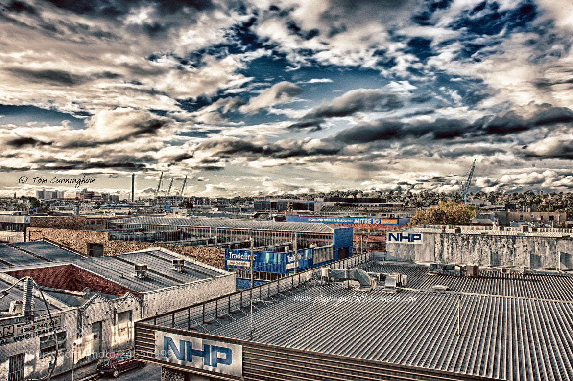 Photograph HDR: Richmond Industrial Estate by Tom Cunningham on 500px