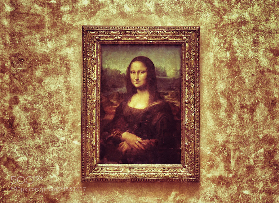 Photograph Mona Lisa by Ravi S R on 500px