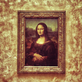 Mona Lisa by Ravi S R (srravi)) on 500px.com