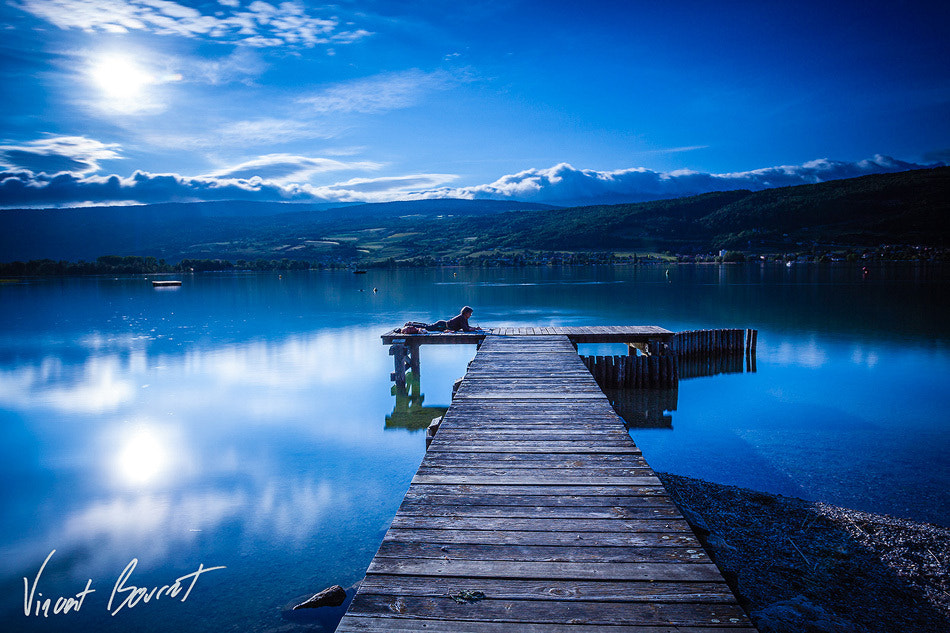 Photograph Life in blue by Vincent BOURRUT on 500px