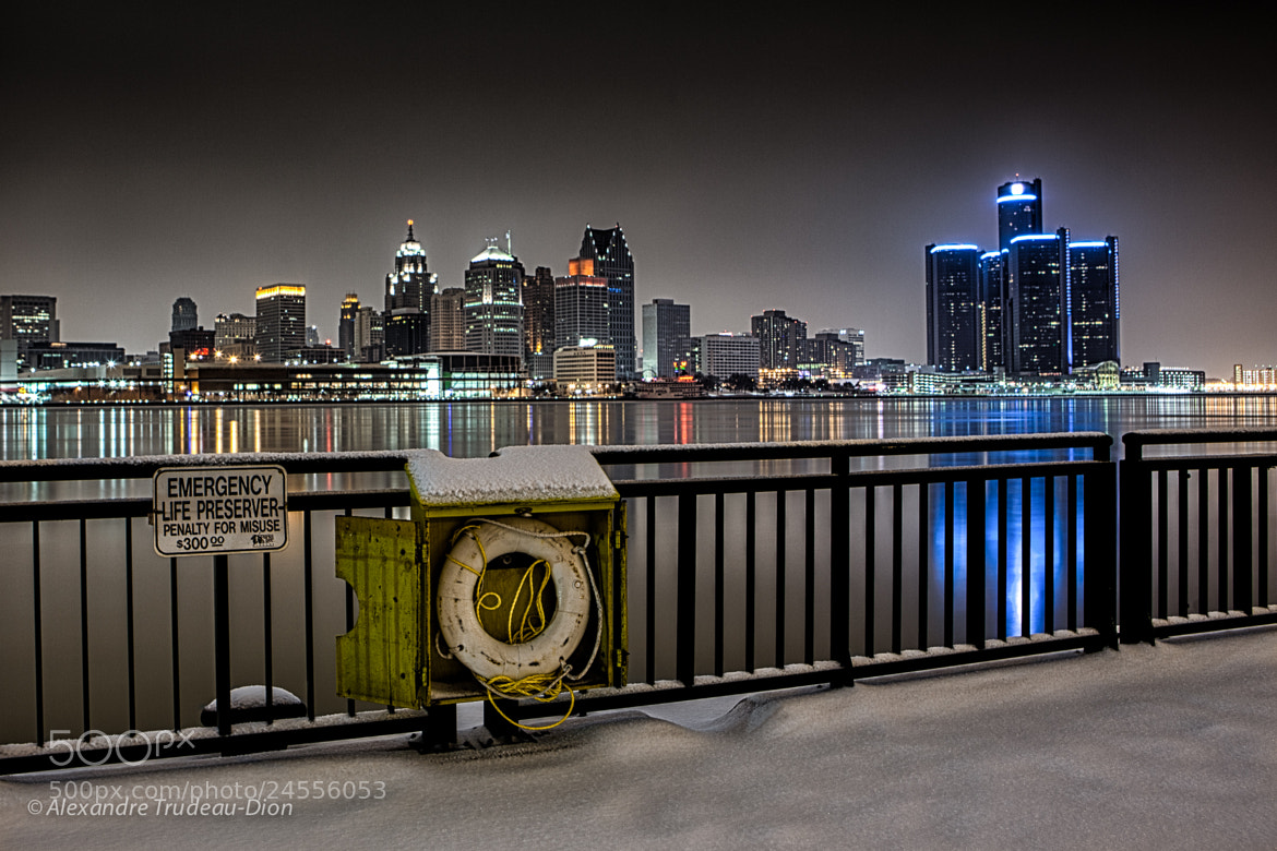 Photograph Detroit need a Life Preserver by Alexandre Trudeau-Dion on 500px