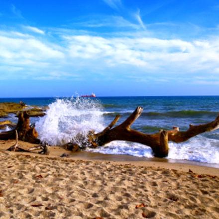 Playa en san Pedro, Canon POWERSHOT ELPH 320 HS