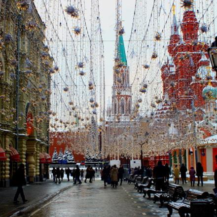 Это  Москва !, Canon EOS 500D, Canon EF 28-80mm f/3.5-5.6 USM IV