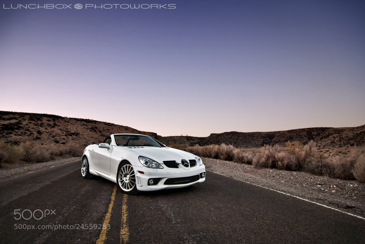 Photograph Mercedes SLK 55 AMG Drop Top by Joshua Coleman on 500px