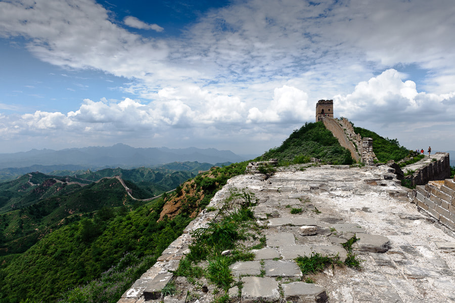 Photograph The Great Wall by Magne Skårn on 500px