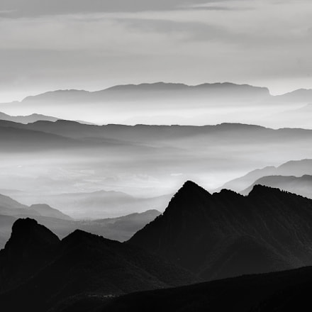 Above the mountains, Fujifilm X-T1, XF100-400mmF4.5-5.6 R LM OIS WR