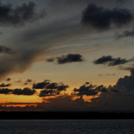 Mida Creek sunset, Watamu, Sony DSLR-A350, Sigma DC 18-125mm F4-5,6 D