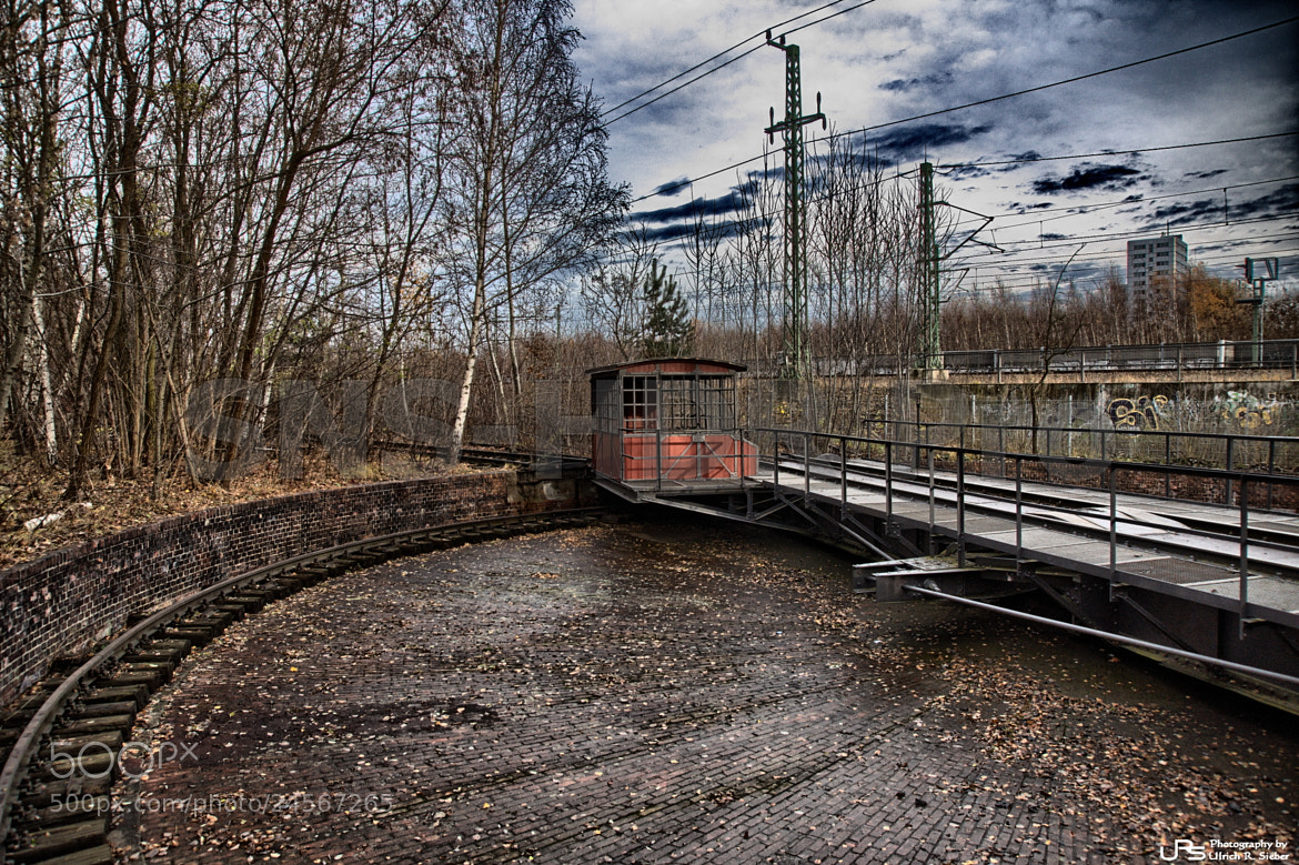 Photograph Rail operation plant by Ulrich R. Sieber on 500px