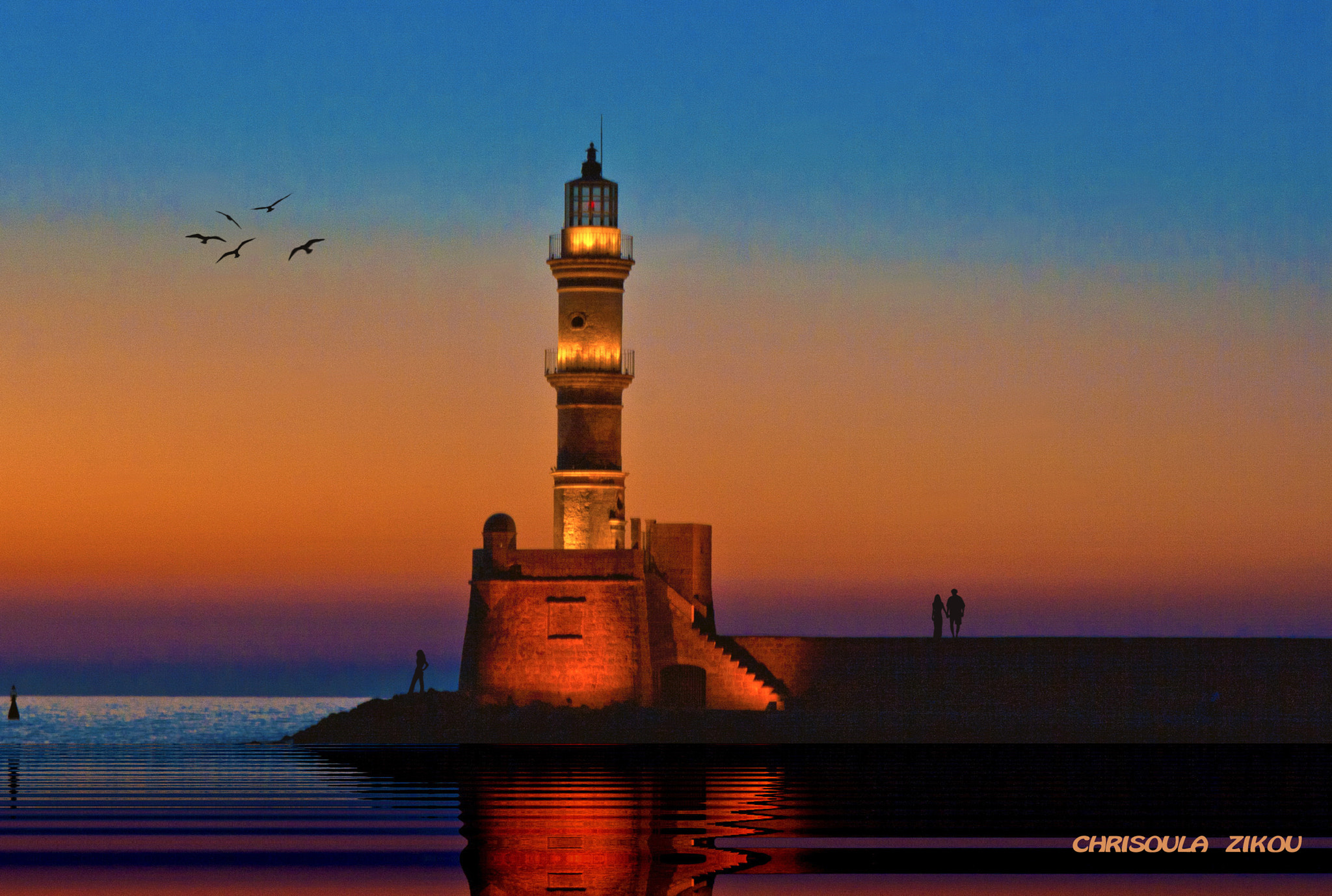 Photograph SUNSET IN CRETE by Chriss Zikou on 500px