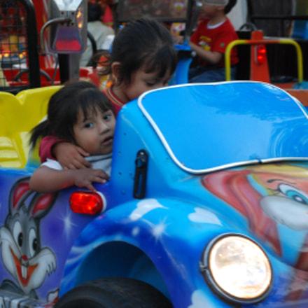 mexico child car fun, Nikon D80, AF Micro-Nikkor 55mm f/2.8