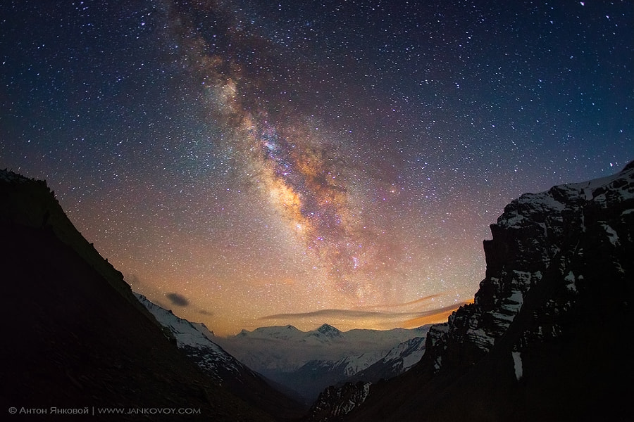 Milky Way above the Himalayas by Anton Jankovoy on 500px.com