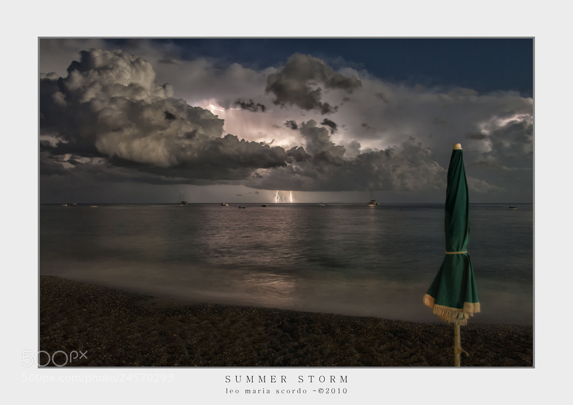 Photograph summer storm by Leo Maria Scordo on 500px