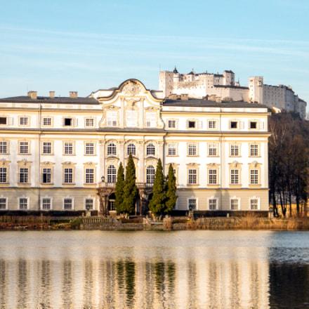 Castle Leopoldskron, Austria, Fujifilm FinePix S2000HD S2100HD