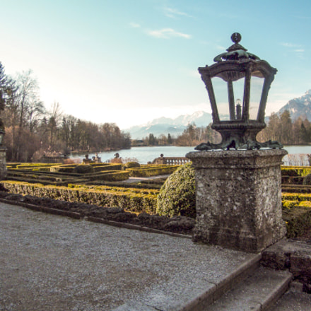 Castle Park Leopoldskron, Austria, Fujifilm FinePix S2000HD S2100HD