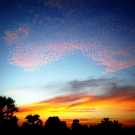 Sunset, Canon POWERSHOT A2200