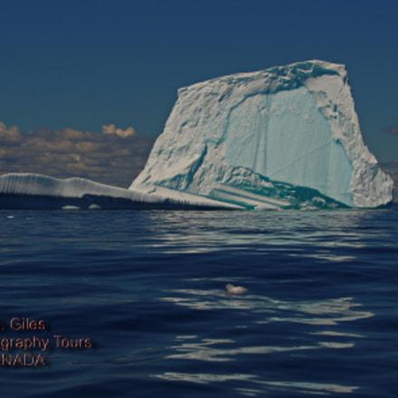 Greenland Ice In Canada, Pentax K-5 II S, smc PENTAX-DA* 60-250mm F4 [IF] SDM