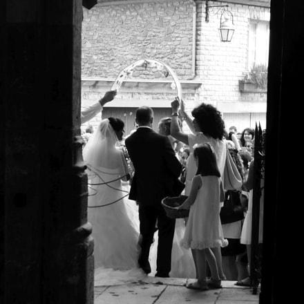 Nevers cathedral wedding, Panasonic DMC-TZ36