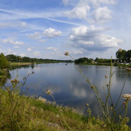 Nevers - Loire river, Panasonic DMC-TZ36