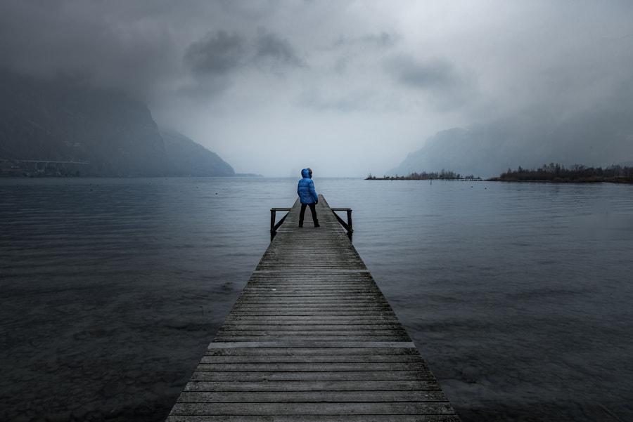 It's me, searching for light, автор — Florian Thalmann на 500px.com