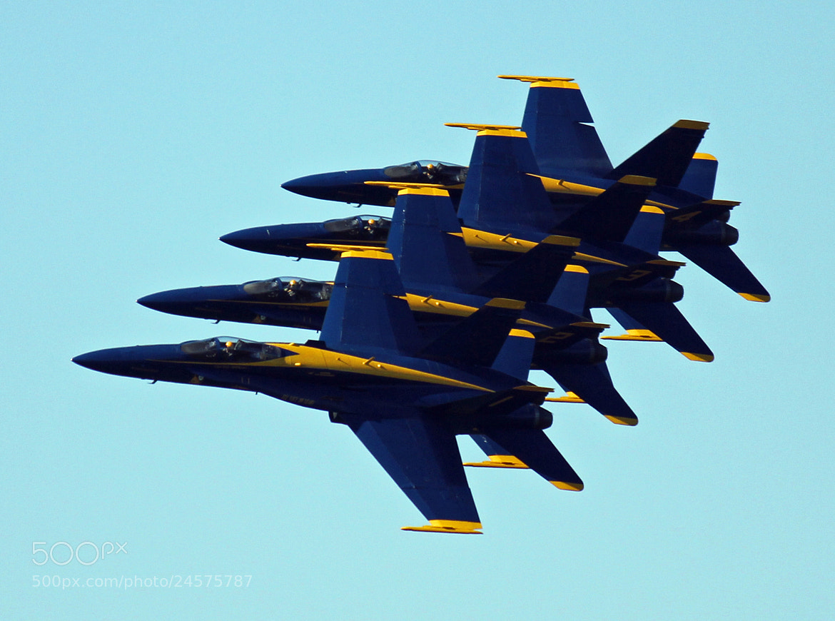 Photograph Blue Angels by James Roberts on 500px