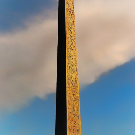 The Luxor Obelisk, Paris, Sony DSC-T100