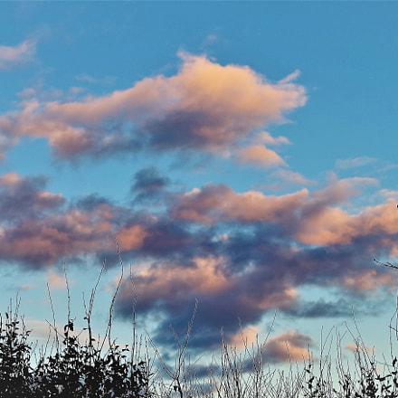 evening clouds, RICOH PENTAX K-S2, smc PENTAX-DA L 18-50mm F4-5.6 DC WR RE