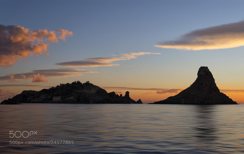 Photograph Isola Lachea e Faraglione Grande by Francesco Mangiaglia on 500px