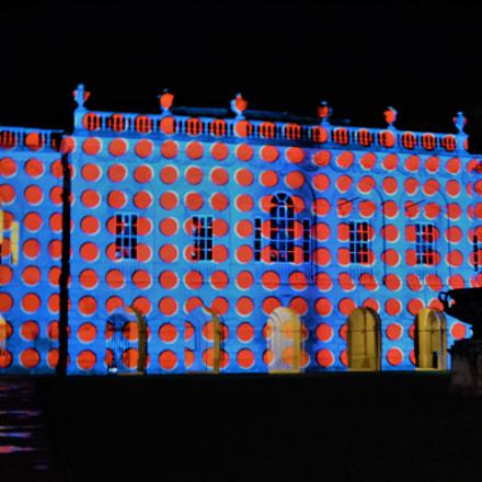 Spotty palace, Nikon D3100, AF-S DX Zoom-Nikkor 18-55mm f/3.5-5.6G ED