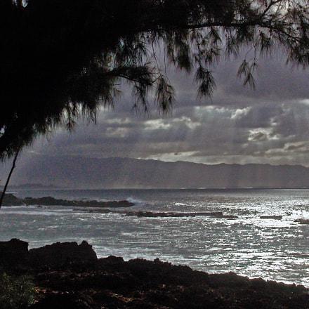 Overcast North Shore Oahu, Sony DSC-F828