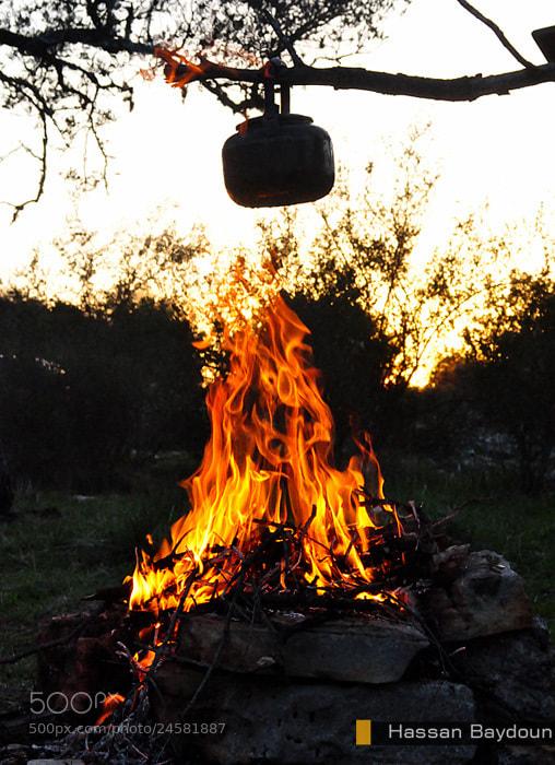 Photograph Tea and firewood -lebanon by Hasan Baydoun on 500px
