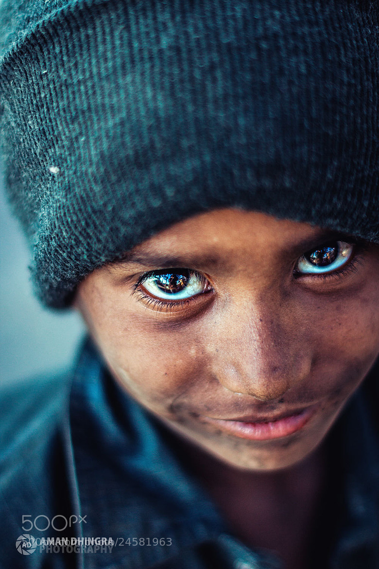 Photograph Smile of a Innocent Child by Aman Dhingra on 500px