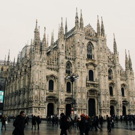 Duomo di Milano, Canon EOS 700D, Canon EF 50mm f/1.8