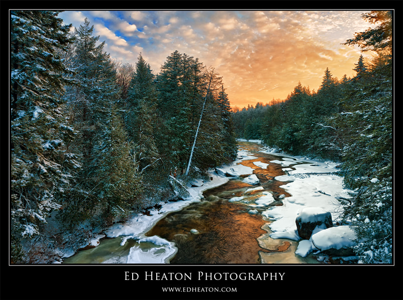 Photograph Blackwater River Sunrise by Ed Heaton on 500px