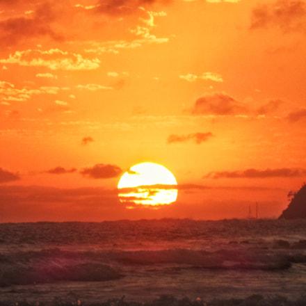 Sunrise at Mooloolaba, Qld, Panasonic DMC-TZ57