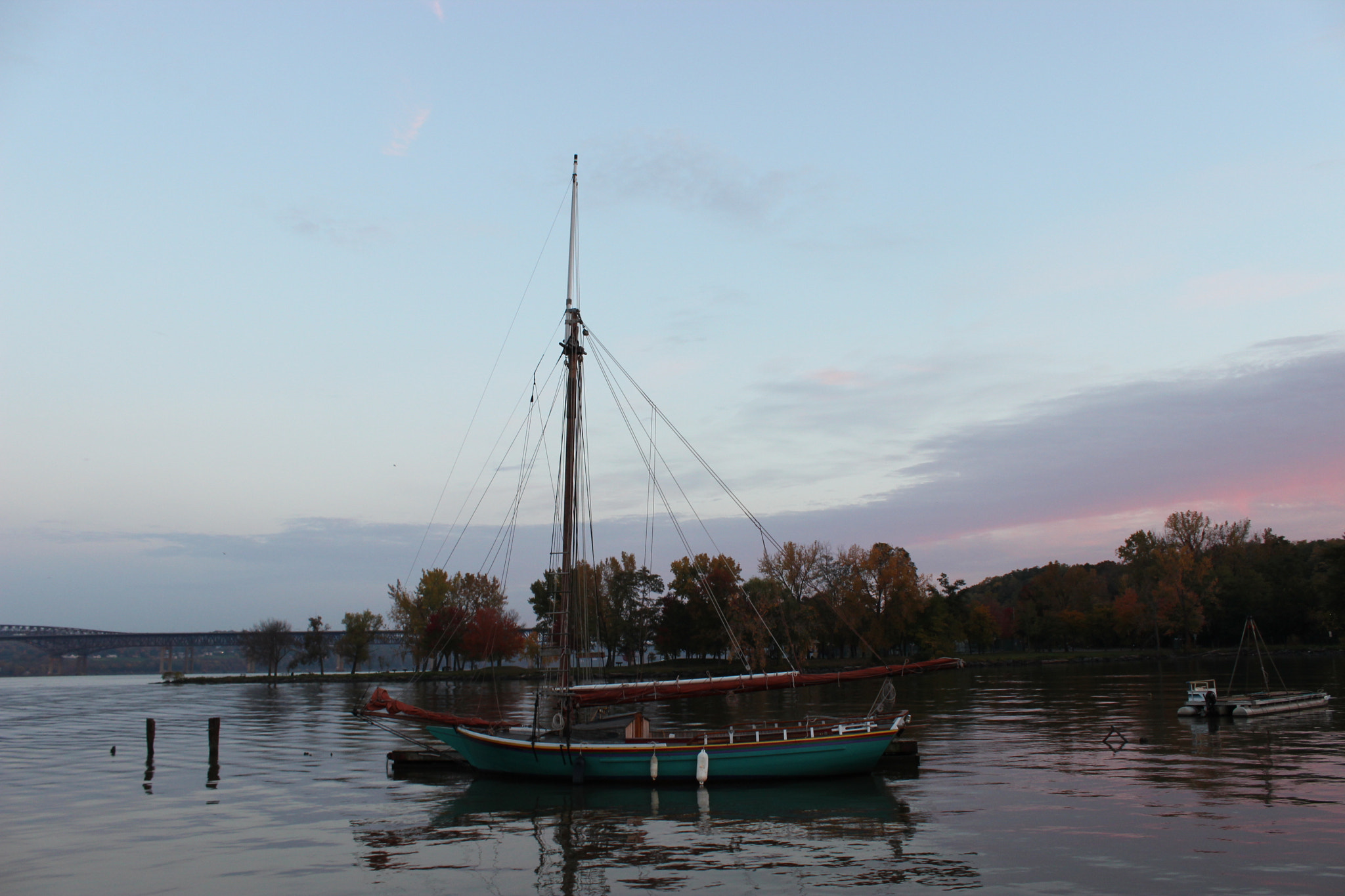 Photograph Sailboat at Sunrise (unedited) by Christine Skulevold on 500px