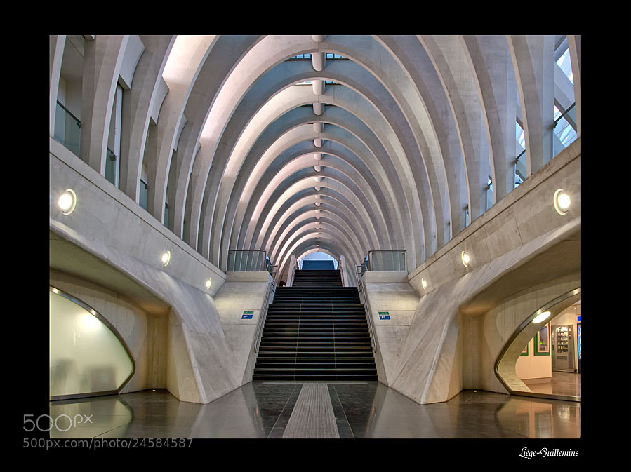 Photograph Liège-Guillemins by Lucy Filippini on 500px