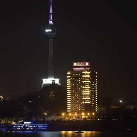 Night of Wuhan, Sony ILCE-7, Sony FE 70-200mm F4 G OSS