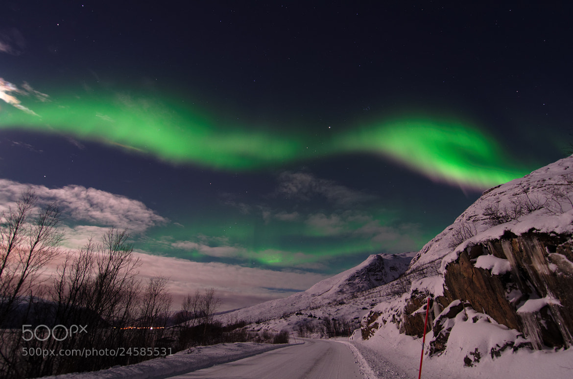 Photograph Aurora borealis by John Hemmingsen on 500px