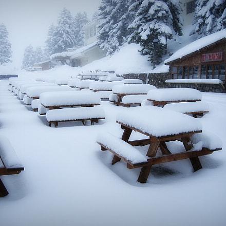 snow - winter ..., Sony DSC-N1