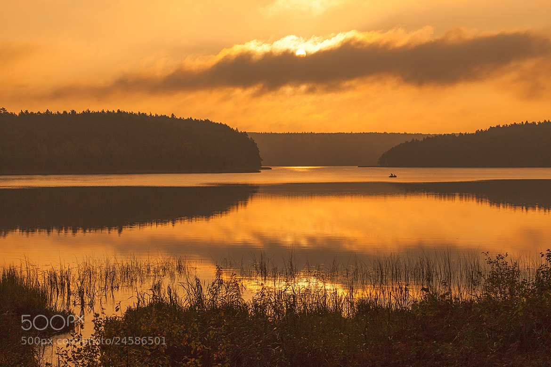 Photograph Morning fishing by Vytautas Mikalauskas on 500px