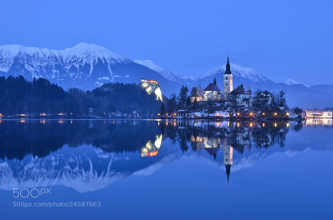 Photograph Blue Hour Reflection by Csilla Zelko on 500px