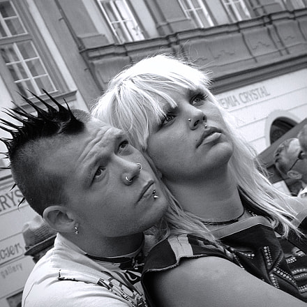 Love in Prague, 2003..., Nikon E990