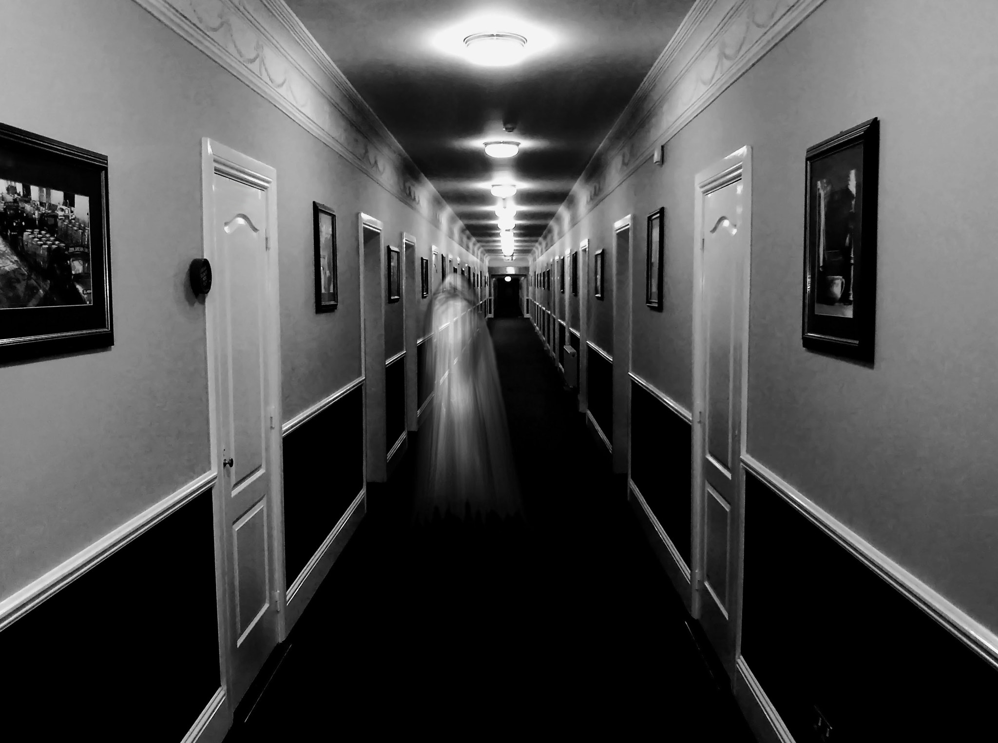 Photograph Corridor ghost by André Quartin Santos on 500px