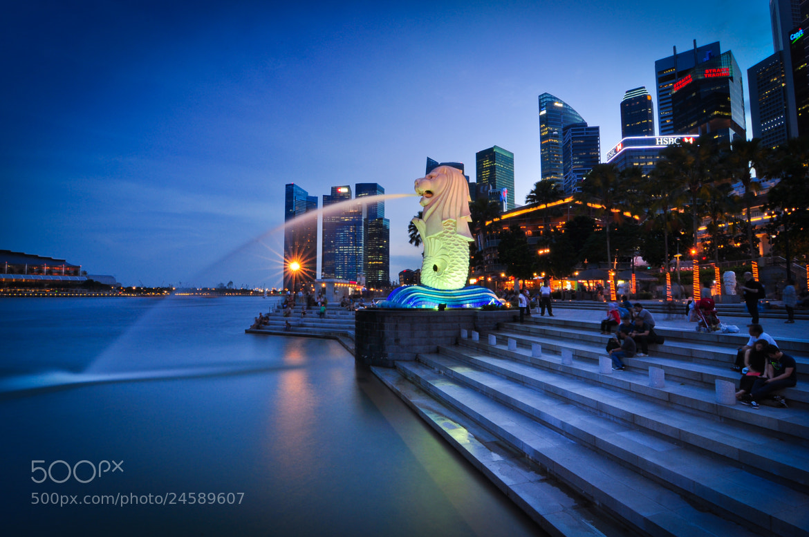 Photograph merlion by Xet Ng on 500px