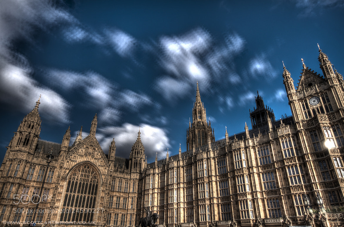 Photograph Houses Of Parliament by Scott Cartwright on 500px