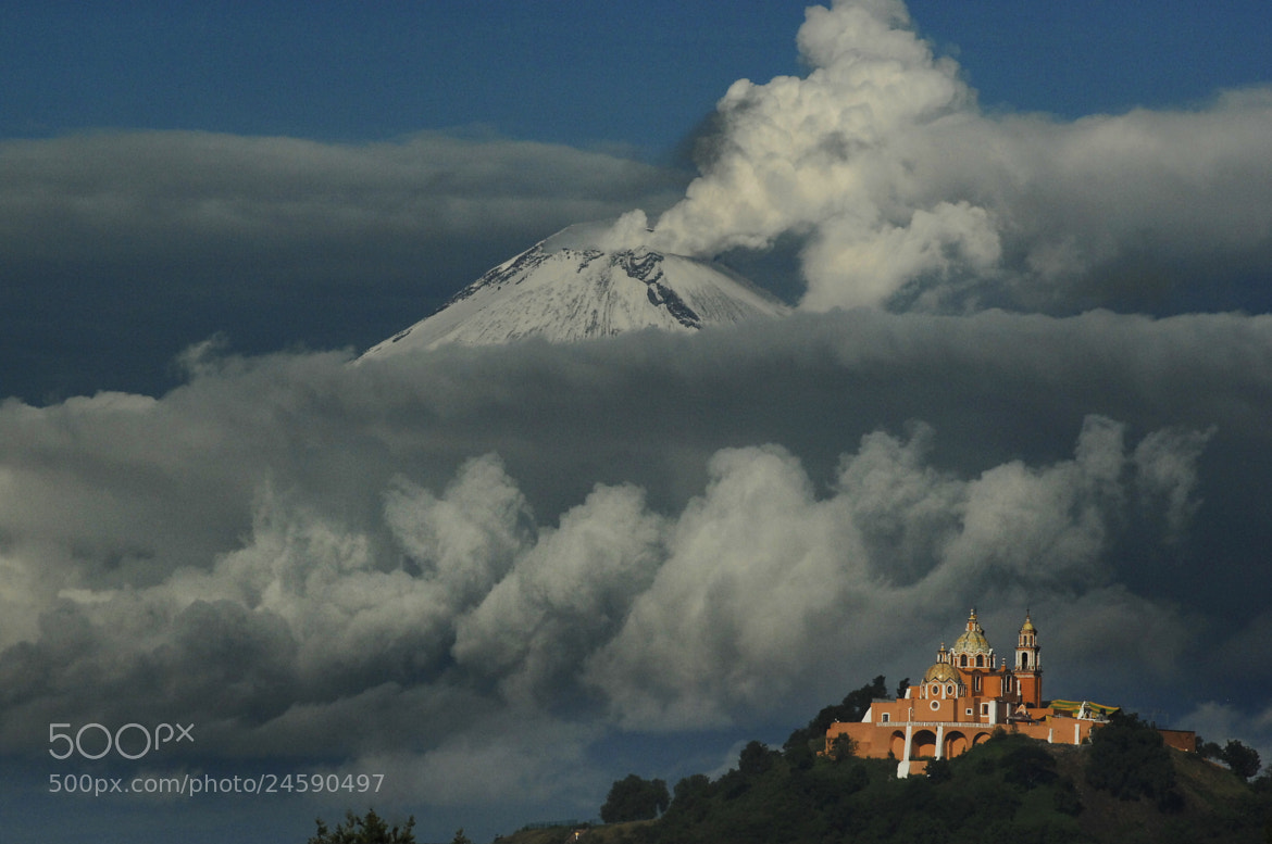 Photograph Smoking between clouds by Cristobal Garciaferro Rubio on 500px
