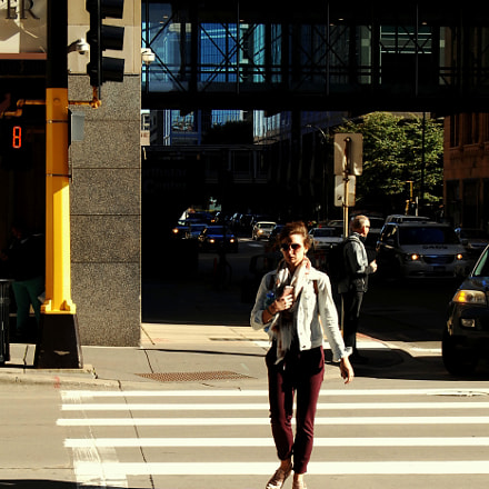 Marquette Avenue - Late, Nikon D2XS, AF-S DX Zoom-Nikkor 18-55mm f/3.5-5.6G ED